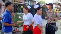 ခန္႔ခန္႔ျကီး ခန္႔စည္သူ ဟာသ ကားေလးပါ myanmar ပုပၸါးသားေလး