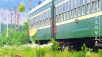 纪录片【走向消失的绿皮车】-行驶在矿坑上的通勤火车