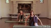 加强核心肌肉群的普拉提健身锻炼
