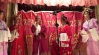 戏剧《二女争夫》01:梧州市木双镇天平东冲村演出。
