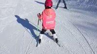溜溜于南山后山大S道跟教练学滑雪(2017-1-3)