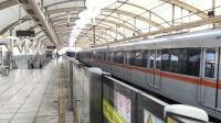 比利《上海地铁7号线》03 AC-10芬达706号车罗南新村上行进站&AC-10芬达725号车下行进站