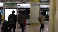 比利《上海地铁2号线》01 AC-02A西瓜208号车龙阳路上行出站&AC-17A大青鲶鱼未知车号下行出站