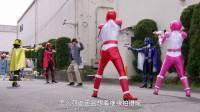 快盗战队鲁邦连者vs警察战队巡逻连者 11【梦星】