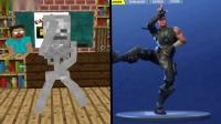 我的世界动画-怪物学院-跳舞挑战-gumbui guy