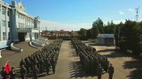 哈尔滨传媒职业学院2018年新生军训阅兵