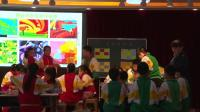 人教版五年級美術《色彩的和諧》第一課時課堂實錄