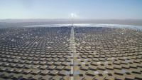 12000面镜子造就沙漠里800公顷的钢铁森林