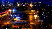(原创)俺眼中的雨夜美景