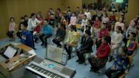 人音版三年級五線譜《頑皮的杜鵑》演唱課教學視頻-音樂教學骨干張老師