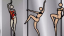 一个爱画钢管舞女郎的艺术家 91