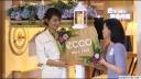 刘涛素颜菜市场买菜 挑水果很接地气 170912