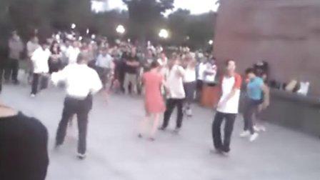 昌平永安公园老头热舞2