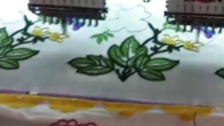 东莞网布花边厂生产服装花边过程