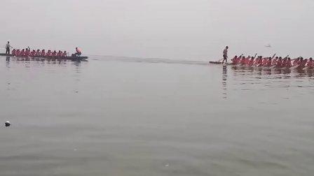 湖北崇阳青山雷骆龙舟队东湖训练摄影3