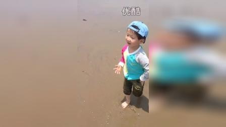 海绵沙滩奔跑