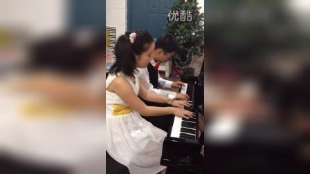 四手连弹《孤独的牧羊人》洛阳市贝多芬钢琴教育中心