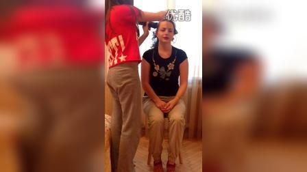 Лысая Дарья (Darya shaves head bald)