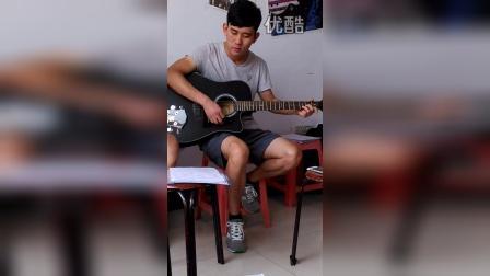 『岩涛』李小朋吉他班♬ 那就这样吧