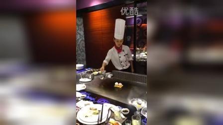 """虎門國際購物中心的蕹格法式燒的""""火焰香蕉雪糕""""制作过程!"""