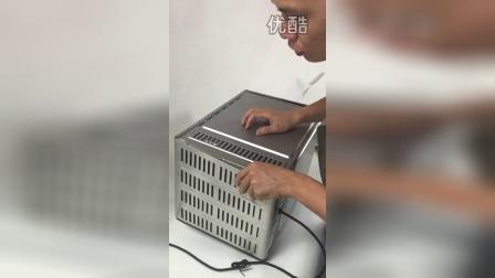 长帝电烤箱外壳拆卸过程示意2(演示型号:CKTF-32GS)