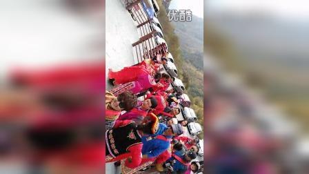 首届驼友网策划四川红叶生态徒步节羌族贵宾迎宾仪式
