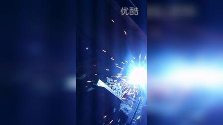 龙太电气双模块一体高速气保焊机小电流焊接