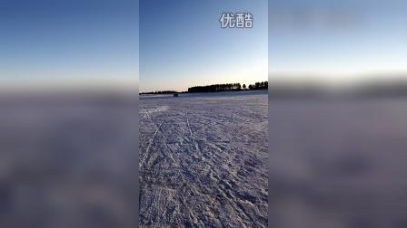 2015年东风鸿泰试车员-黑河水库冰层制动测试