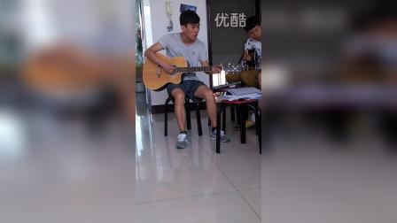 『岩涛』李小朋吉他弹唱班♬ 小情歌