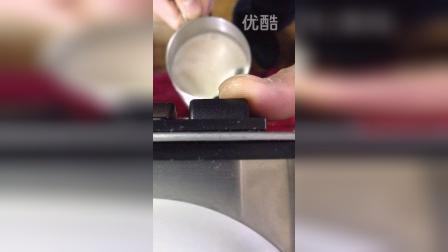 Elaine咖啡机制作咖啡奶泡