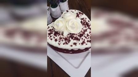 五度蛋糕节红丝绒裸蛋糕