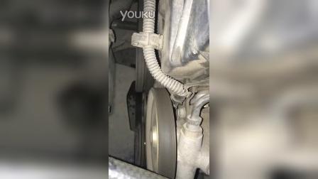 2000年富康新浪潮1.4发动机咔咔异响和发动机皮带轮下侧漏水问题求解