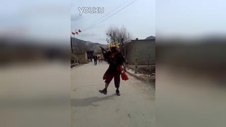 青海省海东市乐都区老鸭社火