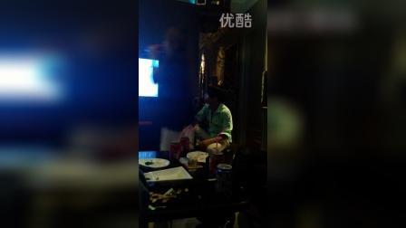 广西灵山云州中学老蛇2015年虎门ktv表演唱歌