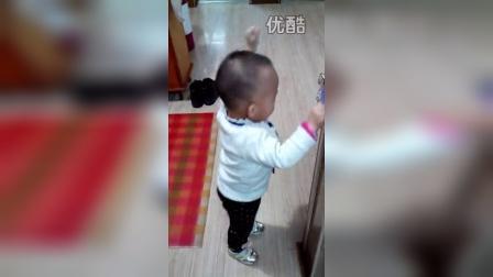 孙朵朵跳舞