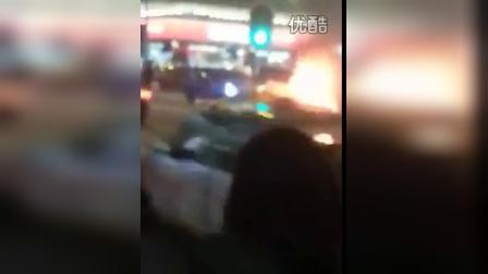 香港佐敦道火烧法拉利15年4月22日
