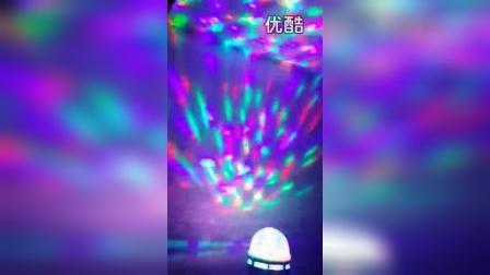旋转七彩灯LED魔球酒吧舞台灯婚庆聚会KTV激光灯镭射灯圣诞灯_标清