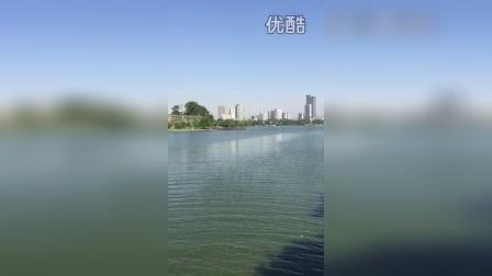 南京玄武湖环湖风光