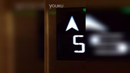 电梯从-2楼上到13楼