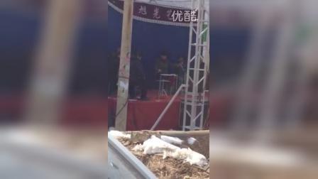 长子县赵旭光艺术团乡下演出。联系电话13835564751