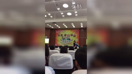 苏州吴江经济开发区山湖花园小学六(二班)班主任归明月老师毕业典礼演讲!