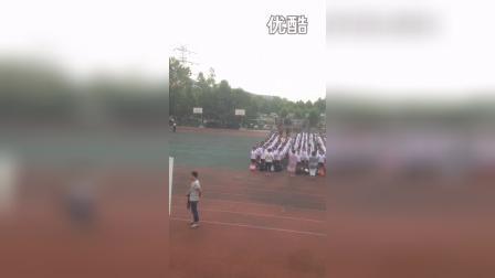 大连市甘井子区金二小学毕业升旗仪式