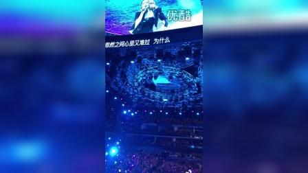 蔡依林7.18上海演唱会 你怎么连话都说不清楚 说爱你
