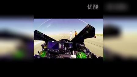 超动力Ninja H2R在莫哈韦表现非凡