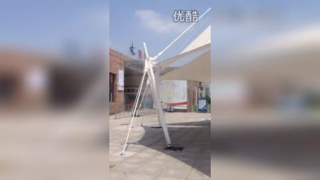 东方嘉鹏喷雾系列之杭州湾南岸服务区喷雾降温景观 户外喷雾降温