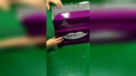百家赞薯条纸展示架 落地展架 纸货架