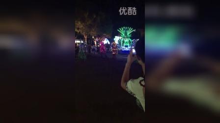常州恐龙园万圣节游行