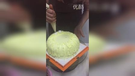 香蕉奶酪蛋糕抹胚