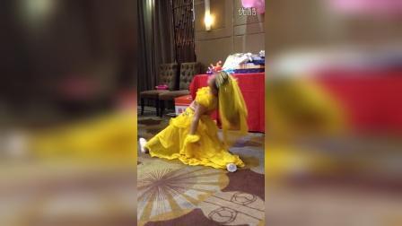 珠海少儿才艺培训-红河谷舞蹈艺术中心方柔小朋友表演印度舞《大眼睛》