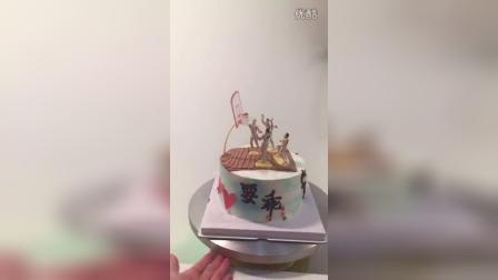 蜜Tina:13913555911之篮球蛋糕——公牛队